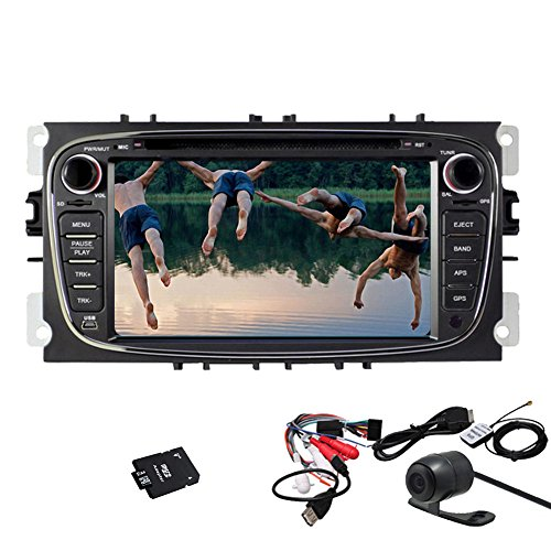 Autoradio Pupug Android 4.2 Auto-In-Schlag GPS Stereo DVD-Video-Player Radio Multi-Media-f¨¹r Ford Mondeo Fokus WiFi Kapazitive Touch-Logo Motors-Monitor Monitor-RDS Radio Monitor Autoradio