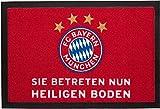 FC Bayern Fußmatte FC Bayern München 'Heiliger Boden' 20671