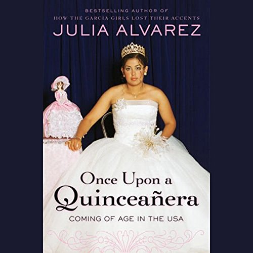 Once Upon a Quinceanera audiobook cover art