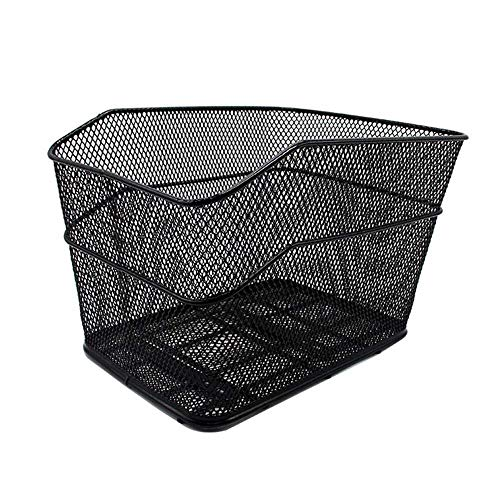 Check Out This Bike Basket Wire Cycle Basket Metal Mesh Rear Mounted Children's Bicycle Basket Large...