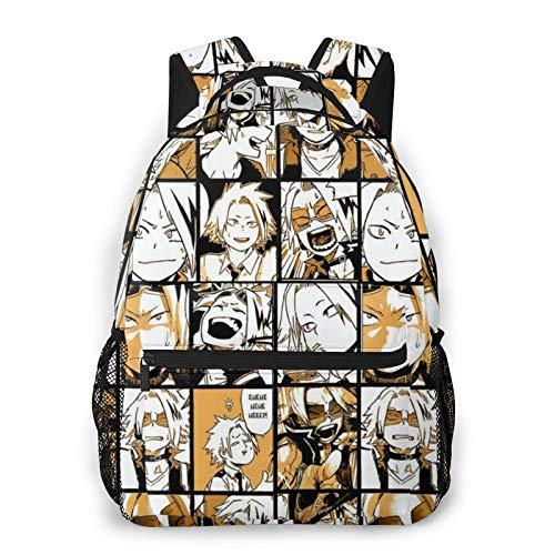 Mochila de Anime My Hero Academia, Mochila con Pegatina Himiko Toga, Mochila para portátil, Mochila Escolar con Estampado de Personajes de Anime para Estudiantes