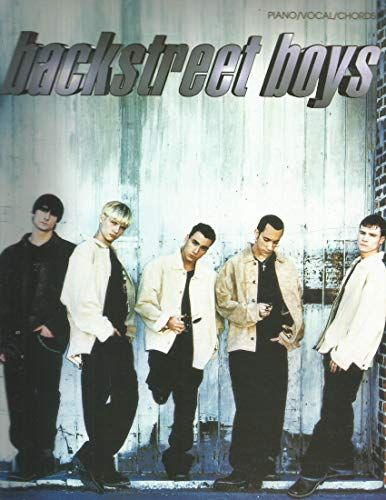 Backstreet Boys: Piano/Vocal/Chords by Backstreet Boys (1998) Sheet music
