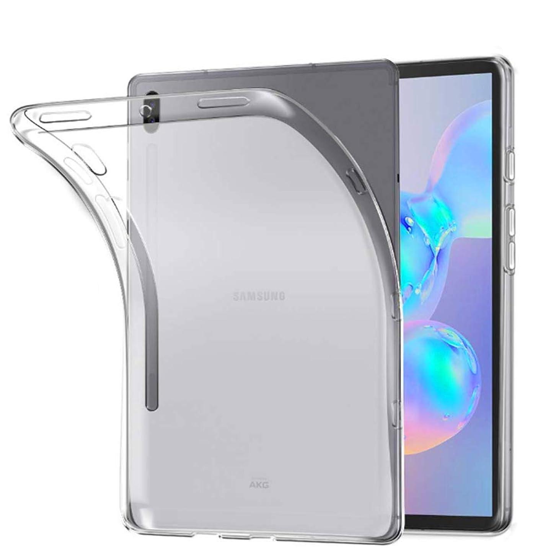 無団結する事実上Hsunny Samsung Galaxy Tab S6 ケース Samsung Galaxy Tab S6 保護ケース カバー ソフト TPU材質 プロテクターカバー 全面クリア 耐衝撃 薄型 指紋防止 黄変防止 滑り止め Samsung Galaxy Tab S6 保護ケース バンパー