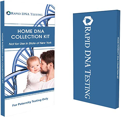 Rapid DNA Paternity Test Kit | All Lab Fees & Shipping to Lab Included | Confidential Results in 2 Business Days Accurate, Simple | in The Privacy of Your Home (Not Available in New York)