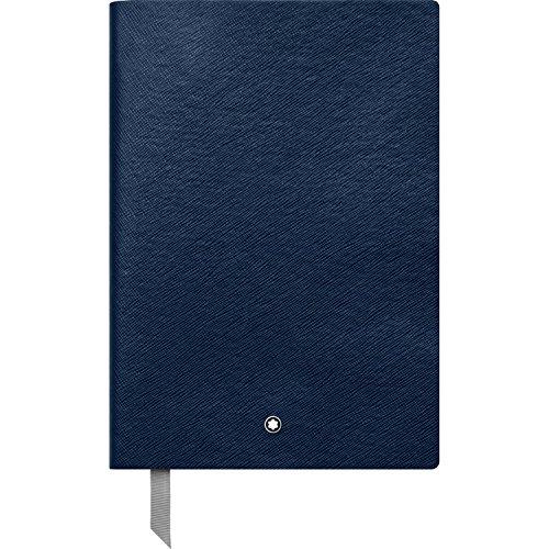 Montblanc 113639 - Blocco Note #146 cancelleria di lusso – Diario – Quaderno, fogli a quadretti, 150 x 210 mm, 192 pagine, copertina blu indaco