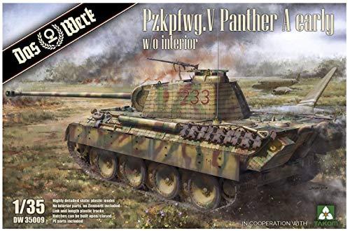Das Werk 1/35 DW35009 Panther A Early