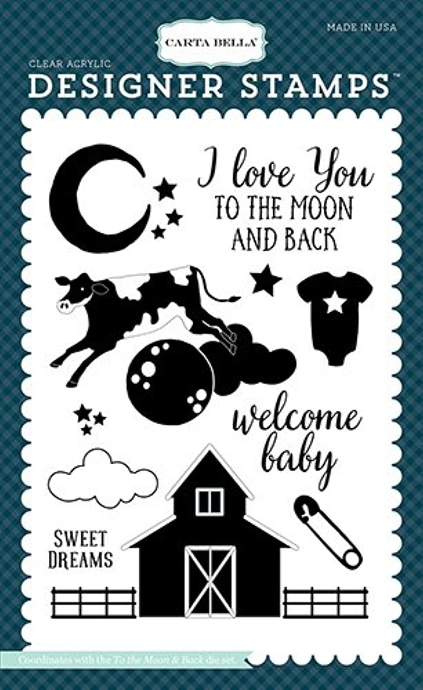 Carta Bella Paper Company to The to The Moon & Back Stamp