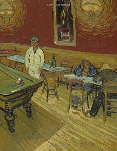 Sketch Book: Large Giant Sketchbook, 600 Pages to Draw, Sketch, Write, Doodle (Van Gogh Painting The Night Cafe Cover)