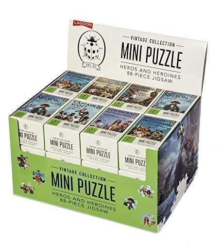 The Lagoon Group Coccinelle Collection Vintage Mini Puzzle - Heros & Héroïnes 88 Pièces De Jigsaw - Vendus Séparément - Reine Elizabeth I