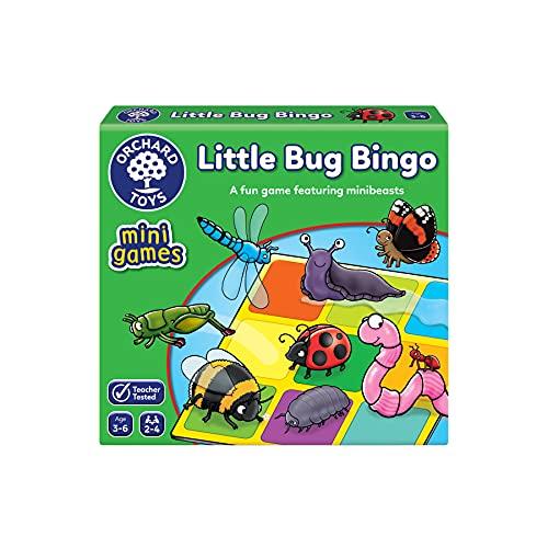 Orchard Toys Little Bug Bingo Mini Juego
