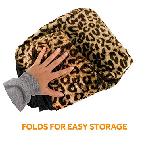 Cat Cave House and Kitty Bed, Extremely Cozy and Warm Mat (Beige)