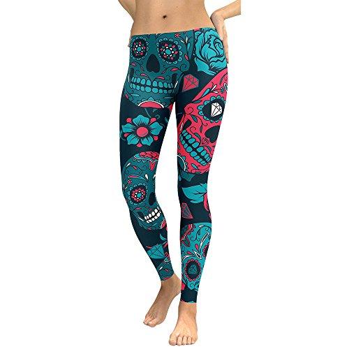 MORCHAN ❤ Femmes Taille Haute Gym Yoga Running Fitness Leggings Pantalons Vêtements d'entraînement