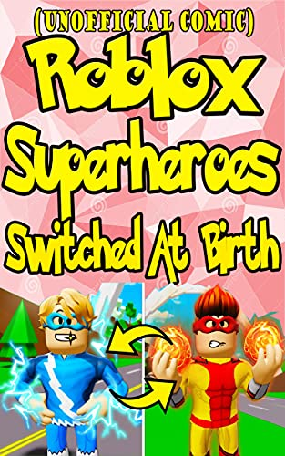 (Unofficial Roblox) The Stories Adopt Me Funny Roblox Comic : Superheroes Switched At Birth Funny Story (English Edition)