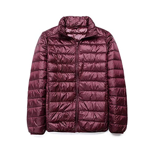 GYXYYF Winter Down Jacket 90 White Duck Down Coat Ultralight Down Jacket Mannelijk Winddicht Warm Parka Stand Collar Down Slim Jacket