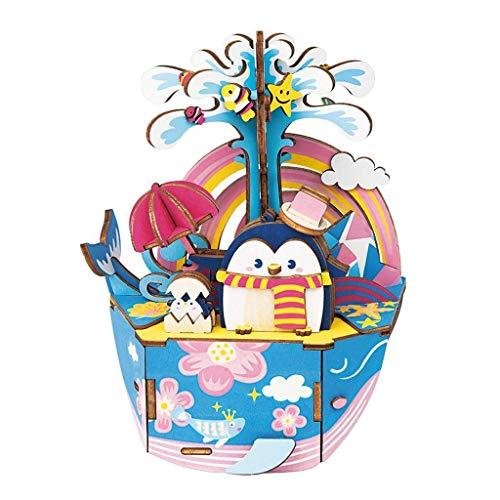 Robotime Ocean Park Spieluhr Spieluhr mehrfarbig Park
