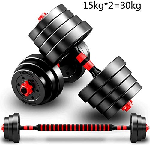 LAZ Adjustable Dumbbell hand weight Barbell Perfect 20Kg / 30kg dumbbell exercise equipment can freely adjust the weight dumbbell Dumbbell (Size : 20kg)