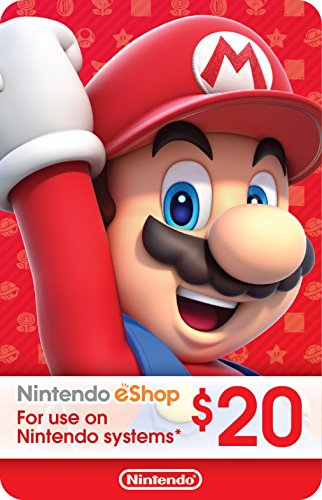 what to spend your nintendo switch gift cards on $20 Nintendo eShop Gift Card [Digital Code]