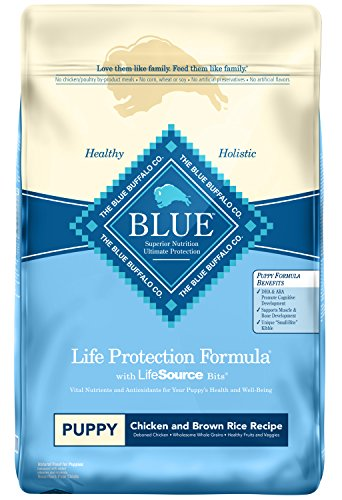 Blue Buffalo Life Protection Formula Natural Puppy Dry Dog Food, Chicken and Brown Rice 30-lb