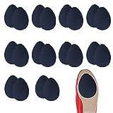 10 Paar Anti Rutsch Sohle Pads Selbstklebend High Heel Pads Selbstklebende Rutschfeste Sohle Schutz, für Männer und Frauen. (SCHWARZ)