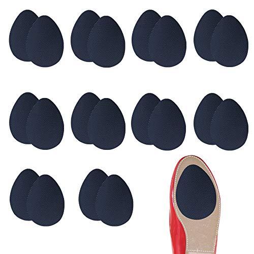 10 par samoprzylepnych antypoślizgowych podkładek na buty wysokie obcasy antypoślizgowe podkładki na podeszwie, antypoślizgowa naklejka na podeszwę