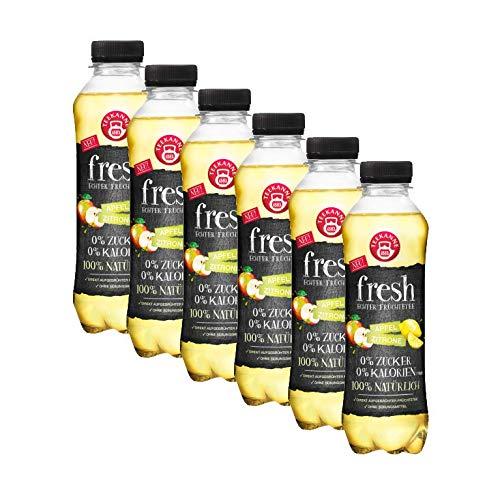 Teekanne fresh Apfel Zitrone, 6er Pack ( 6 x 0,5 l ) EINWEG