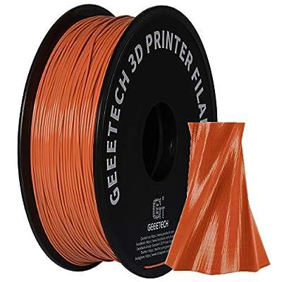 GEEETECH PLA Filament 1.75mm 1Kg spool for 3D Printer,Vacuum Packaging,Brown
