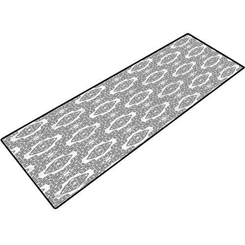 Celtic Throw Door Mat Geometric Celtic Knots Runner for Kitchen Bathroom Doorway Floor 24x48 Inch