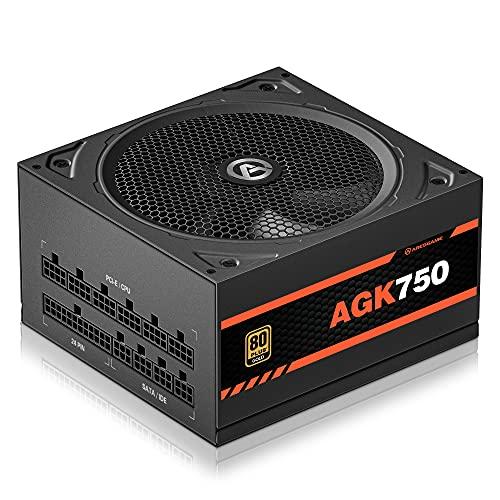 ARESGAME LLC Power Supply 750W, Fully Modular, 80+ Gold PSU