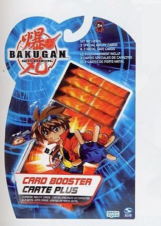 Bakugan, Bakucard Booster. Confezione di strategy card