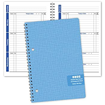 Student Planner Weekly Overview Format for a Full Year  S85-Blue  5.5 x 8.5