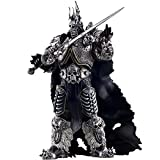 World of Warcraft Lich King Arthas with Ice Sword Deluxe Action Figure 7inch/0.2kg Anime Nendoroid Character Model Collectible PVC Toys Gifts