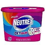 Neutrex Oxy Quitamanchas Polvo Sin Lejía para la ropa Blanco Puro - 512g + 10%