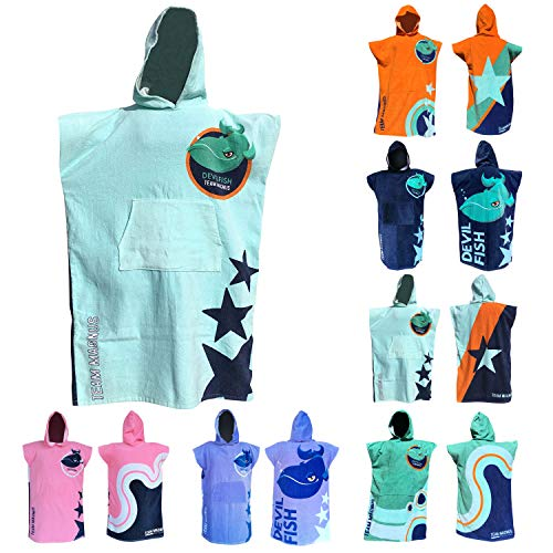 TEAM MAGNUS Kids' Towel and Bathrobe – Stylish Bath Towel Design for Kids 4'-5'6
