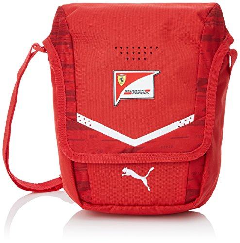 PUMA Ferrari Replica Portable, Borsa A Tracolla Unisex-Adulto, Rosso Corsa, OSFA