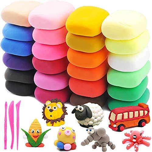 Giocattolo Antistress Slime, BESTZY Colorful Soft Slime, Slime Herramientas para artesanía, Cotton Candy Slime Naranja, DIY Putty Sludge Toy para niñas, 24 Colors