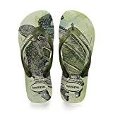 Havaianas Conservation International, Chanclas Unisex Adulto, Multicolor (Apple Green), 43/44 EU