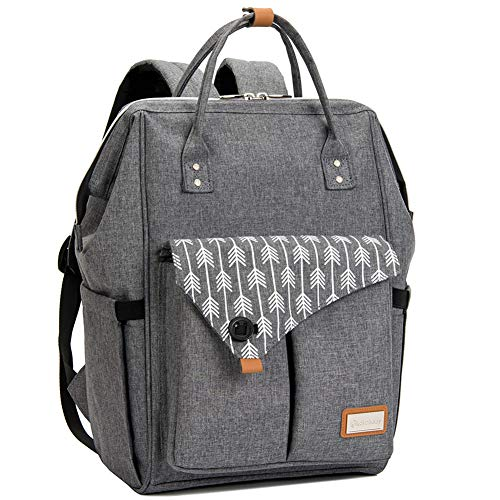 Lekebaby Large Diaper Bag Backpack for...