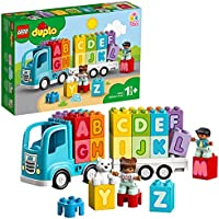 LEGO DUPLO My First Alphabet Truck 10915 ABC Letters Learning Toy for Toddlers, Fun Kids' Educational Building Toy