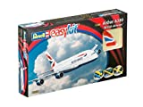 Revell Modellbausatz Flugzeug 1:288 - Airbus A380 British Airways easykit im Maßstab 1:288, Level 2, originalgetreue Nachbildung mit vielen Details, Zivilflugzeug, Passagierflugzeug, 06599 -