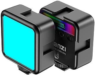 Ulanzi VL49 RGB Mini Multi Color LED Videolampe für Smartphone und Kamera Fülleuchte mit einstellbare Farbtemperatur (RGB + 2500K 9000K) und 2000mAh Akku für Video Vlog Studio Streaming