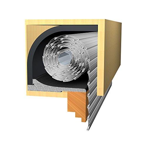 jarolift Energiespar Rollladendämmung 25mm (100 x 50cm) inkl. Deckeldämmung100 x 24cm