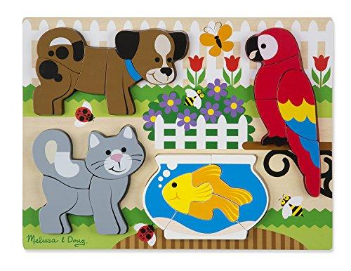 Melissa & Doug Chunky Jigsaw Puzzle-Pets (11890)