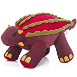 MaoGolan Ankylosaurus Dinosaur Stuffed Animals Plush Toys Birthday Gifts for Boys Children 16  Long