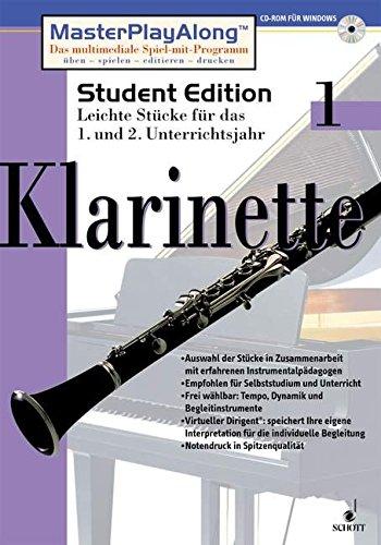 Klarinette, 1 CD-ROMFür Windows 95/98. Leichte Stücke für d. 1. u. 2. Unterrichtsjahr