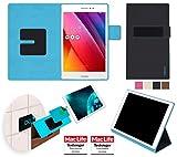 reboon Hülle für Asus ZenPad S 8.0 Z580CA Tasche Cover Hülle Bumper | in Schwarz | Testsieger