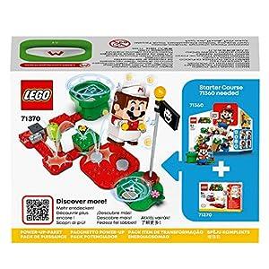 Amazon.co.jp - レゴ スーパーマリオ ファイアマリオ パワーアップパック 71370