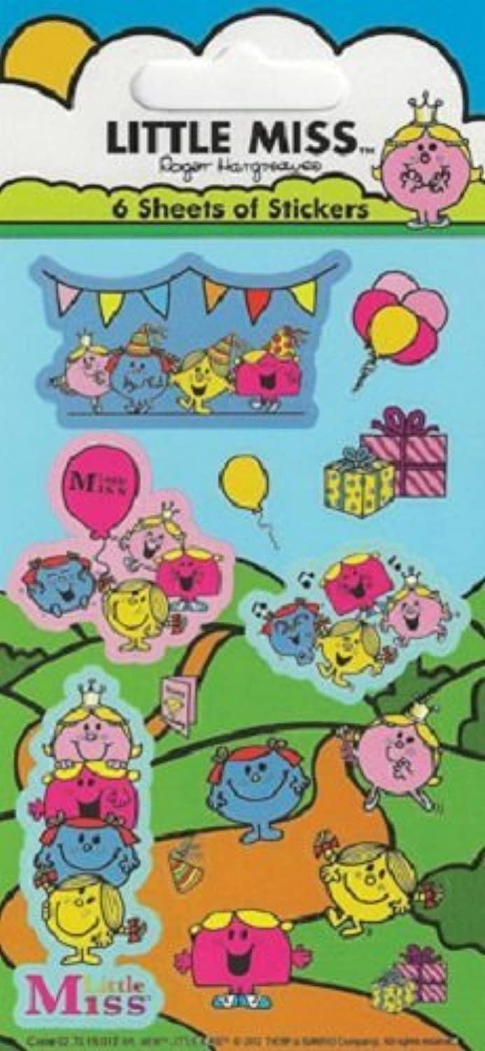 Paper Projects Little Miss Party Pack Stickers by Paper Projects