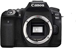 Canon Digital Camera - SLR Canon EOS 90D DSLR Body Only , Black (90DB)