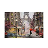 People Under A Red Umbrella Leisure Creative Games 500 Pieces Jigsaw Puzzles for Adults Gift