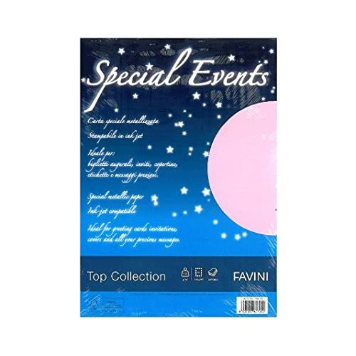 Favini Special Events carta inkjet A4 (210x297 mm) Rosa